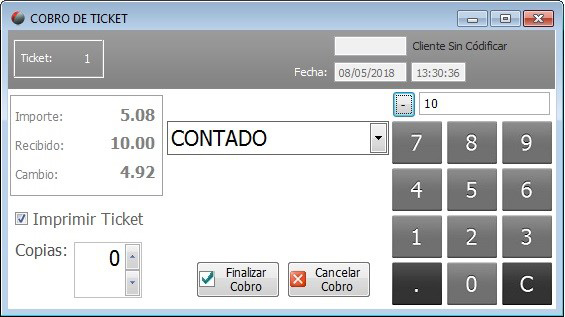 software TPV tecnocop